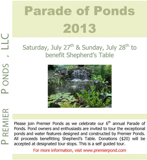 Parade of Ponds 2013